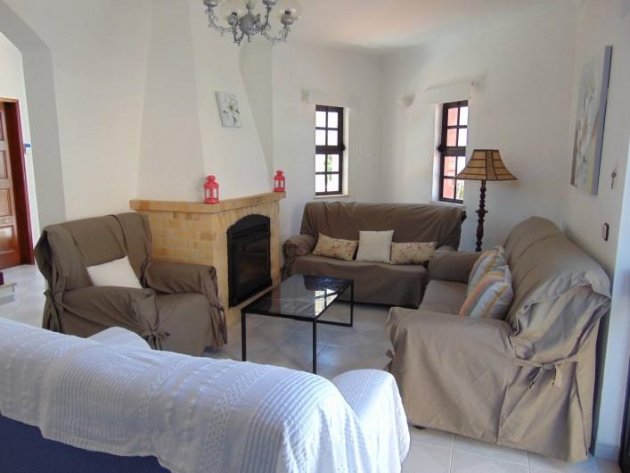 Location de vacances - Villa à Albufeira - Salle de séjour