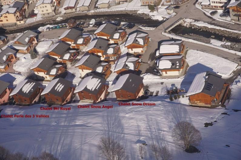 Location de vacances - Chalet à Les Menuires - Chalets-Lacuzon-dans-le village-du-Bettaix-à 150m-du-télésiège