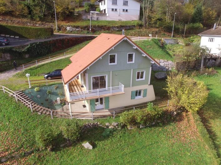 Location de vacances - Chalet à La Bresse - Le Chalet Vert / La Bresse