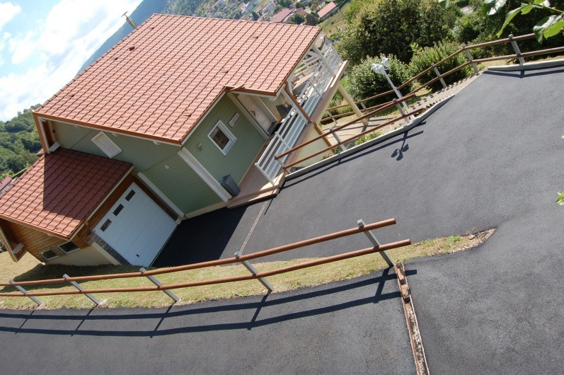 Location de vacances - Chalet à La Bresse - Nouvel accès / Le Chalet Vert / la Bresse
