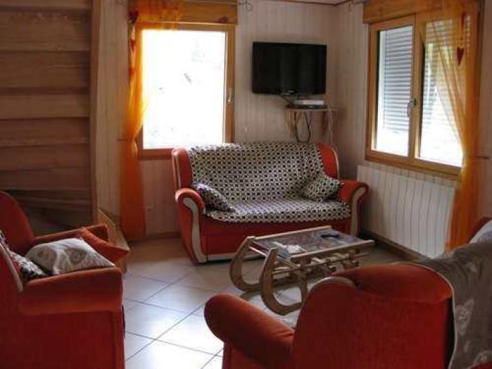 Location de vacances - Chalet à La Bresse - Le salon /  Le Chalet Vert /  La Bresse