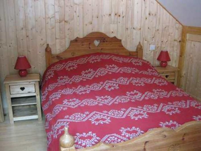 """Location de vacances - Chalet à La Bresse - La chambre """"MONTAGNARDE"""" / Le Chalet Vert /  La Bresse"""