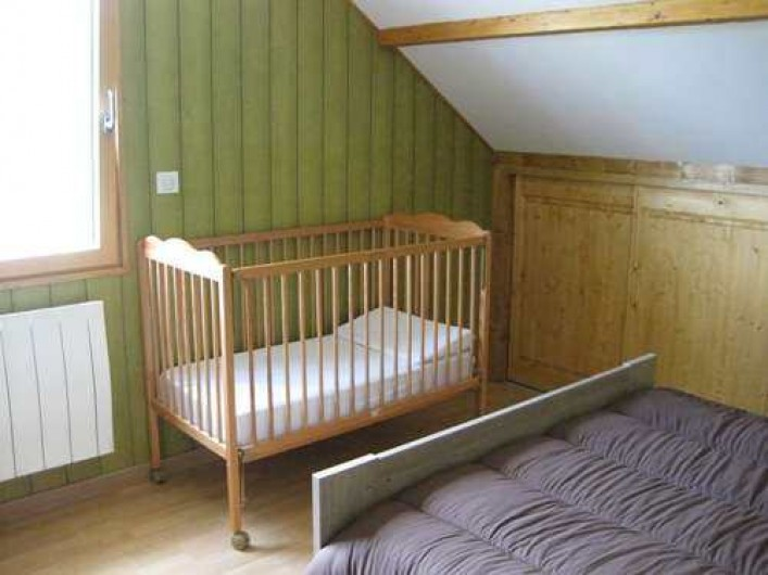 """Location de vacances - Chalet à La Bresse - La chambre """"NATURE"""" / Le Chalet Vert   La Bresse"""