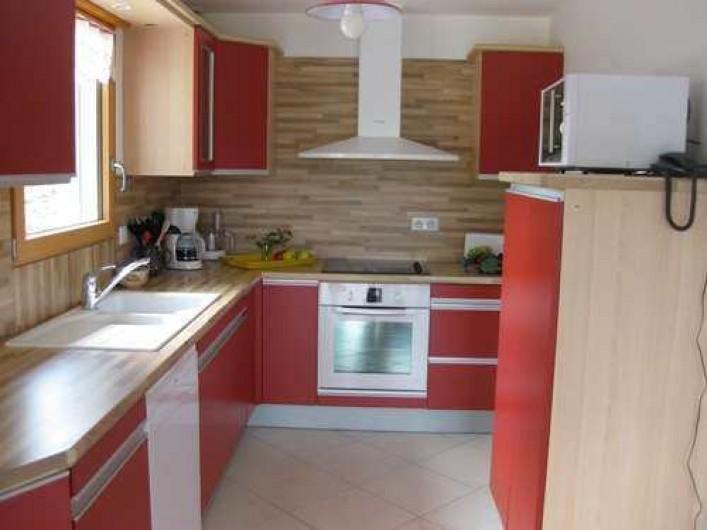 Location de vacances - Chalet à La Bresse - La cuisine /   Le Chalet Vert /  La Bresse