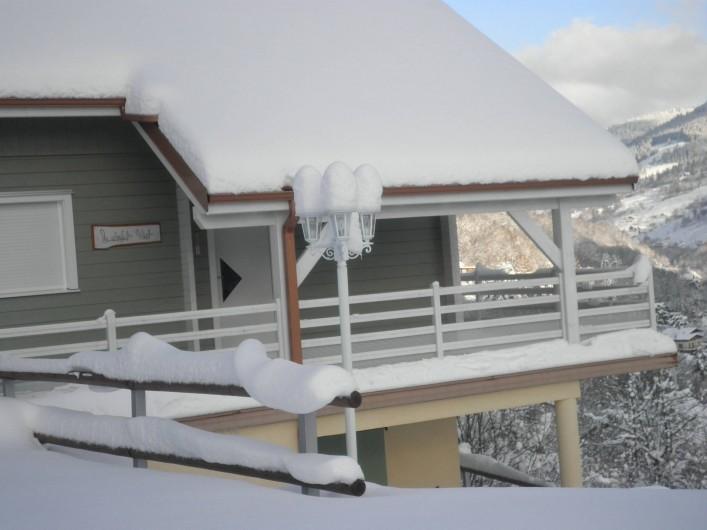 Location de vacances - Chalet à La Bresse - de la neige! /  Le Chalet Vert /  La Bresse