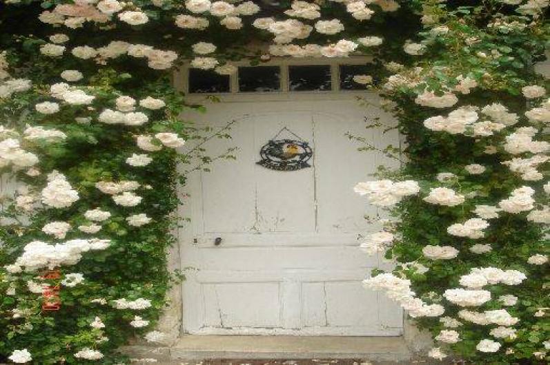 Location de vacances - Château - Manoir à Le Mesnil-sur-Blangy - Porte d'entrée