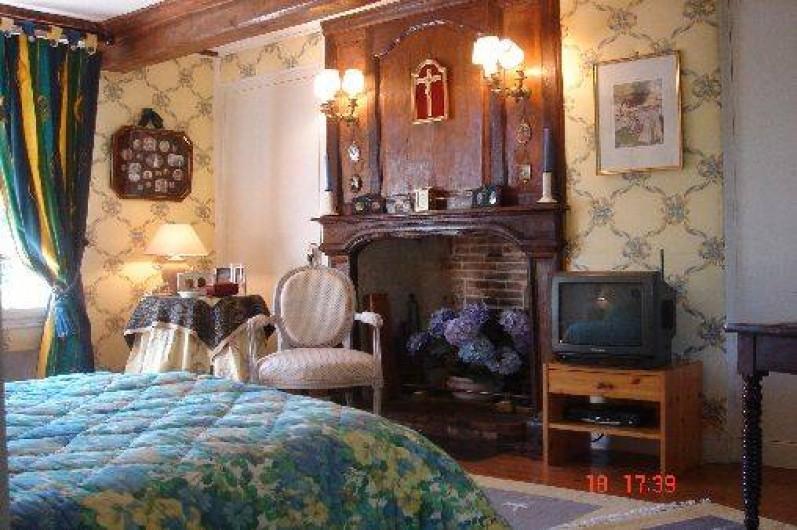 Location de vacances - Château - Manoir à Le Mesnil-sur-Blangy - Chambre n° 1