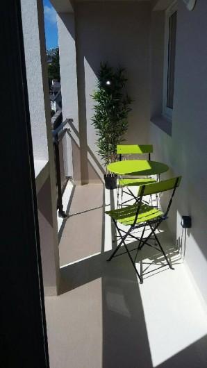 Location de vacances - Appartement à Perros-Guirec - Loggia
