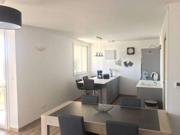 Location de vacances - Appartement à Perros-Guirec - Cuisine