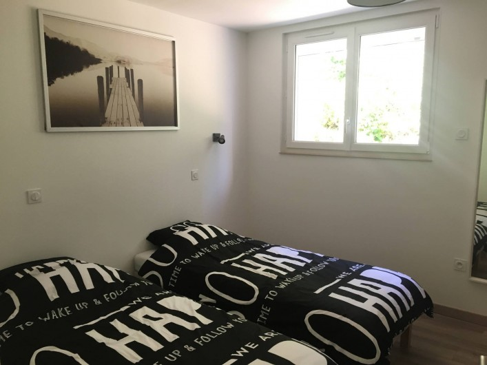 Location de vacances - Appartement à Perros-Guirec - Chambre 2 Lits Simple