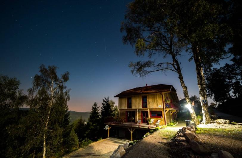 Location de vacances - Chalet à Le Tholy - le chalet une nuit étoilée...