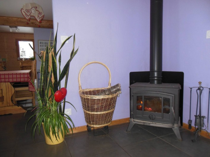 Location de vacances - Chalet à Le Tholy - Coin cheminée