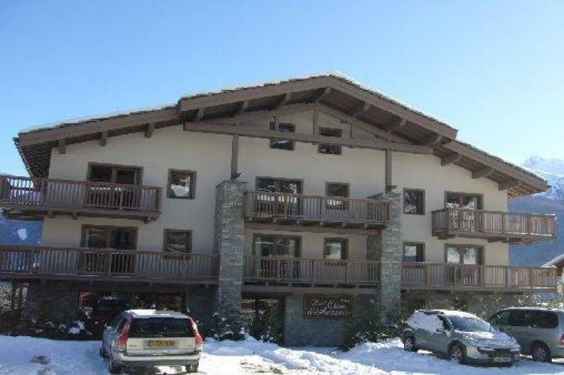 Location de vacances - Appartement à Aussois - Bâtiment côté entrée