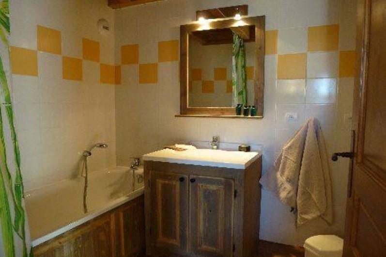 Location de vacances - Appartement à Aussois - Salle de bains