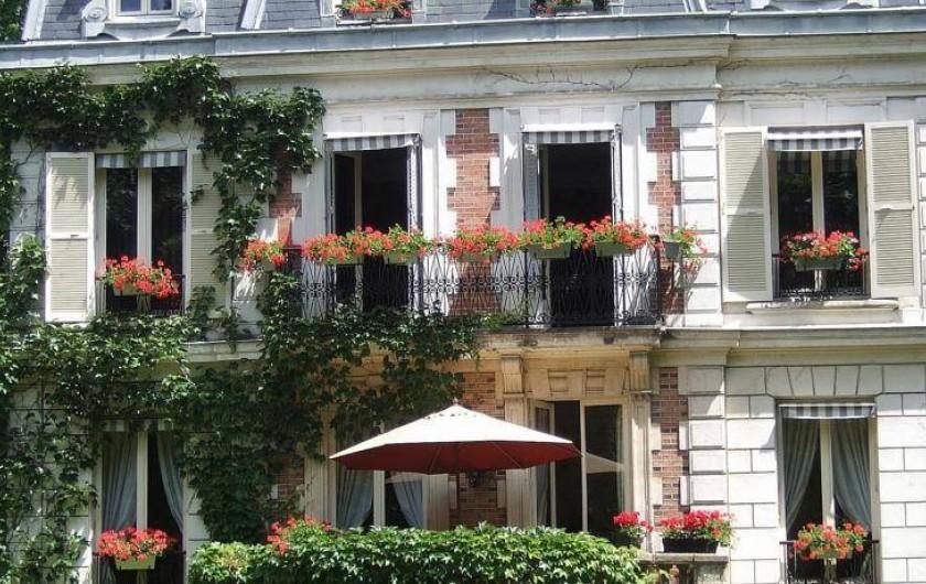 Location de vacances - Chambre d'hôtes à Maisons-Laffitte - Chambre Ipanema