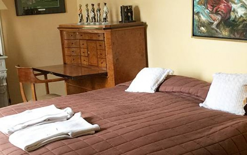 Location de vacances - Chambre d'hôtes à Maisons-Laffitte - Chambre Copacabana