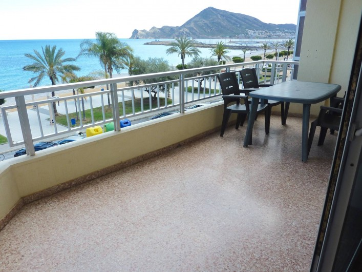 Location de vacances - Appartement à Altea - Terrasse