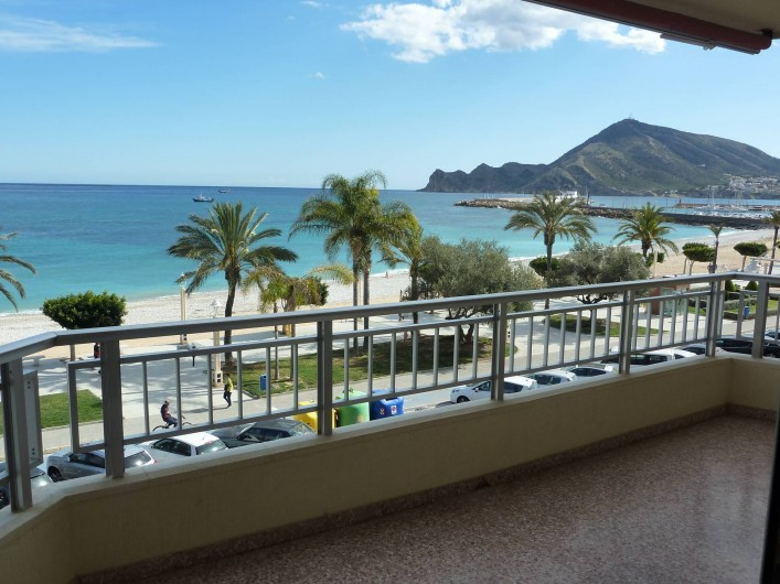 Location de vacances - Appartement à Altea - Vue directe sur la mer