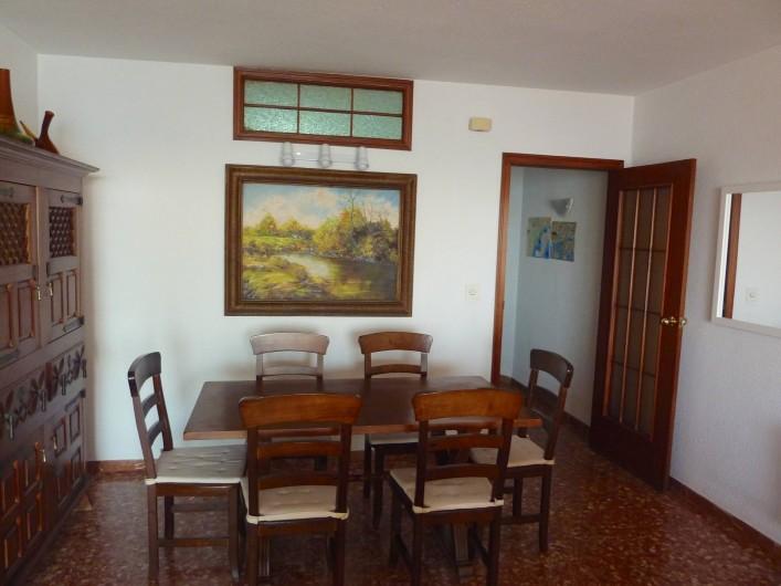 Location de vacances - Appartement à Altea - Salle a manger