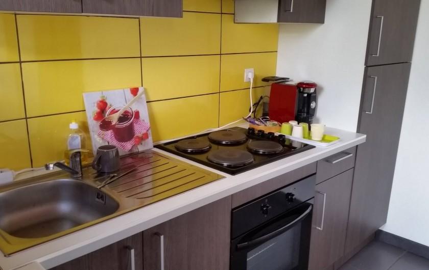 Location de vacances - Chalet à Le Tampon - Tous les accessoires nécessaires pour cuisiner