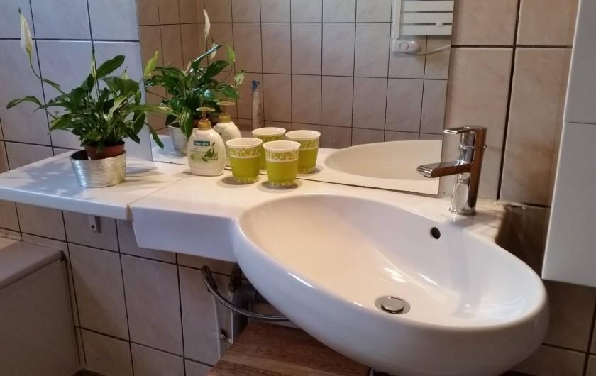 Location de vacances - Chalet à Le Tampon - Salle de bain