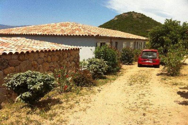 Location de vacances - Villa à Porto-Vecchio - Vous êtes arrivé dans notre mini-villa