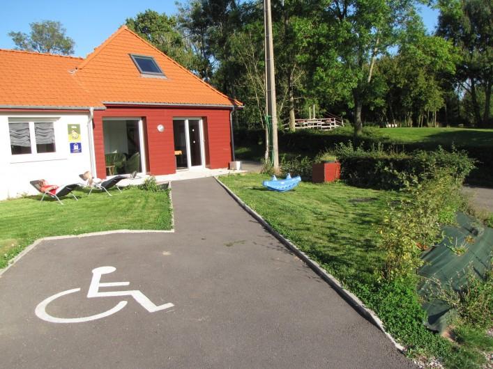 Location de vacances - Gîte à Bezinghem - gite 13 place PMR