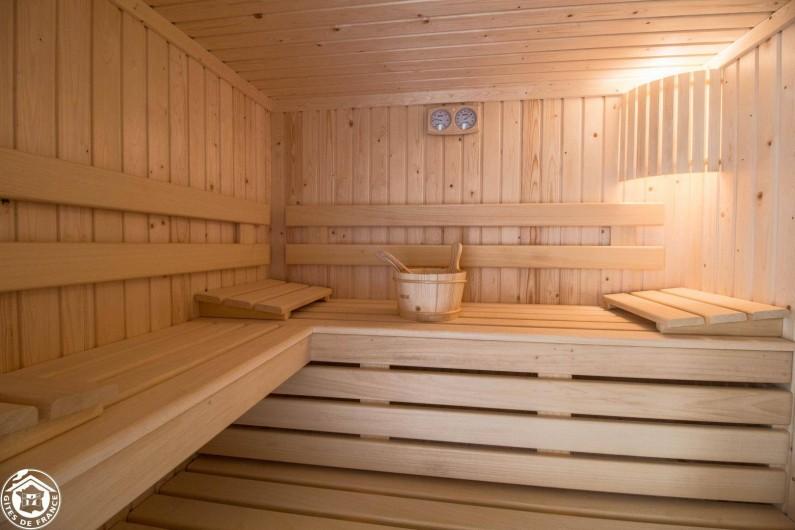Location de vacances - Gîte à Auzelles - sauna