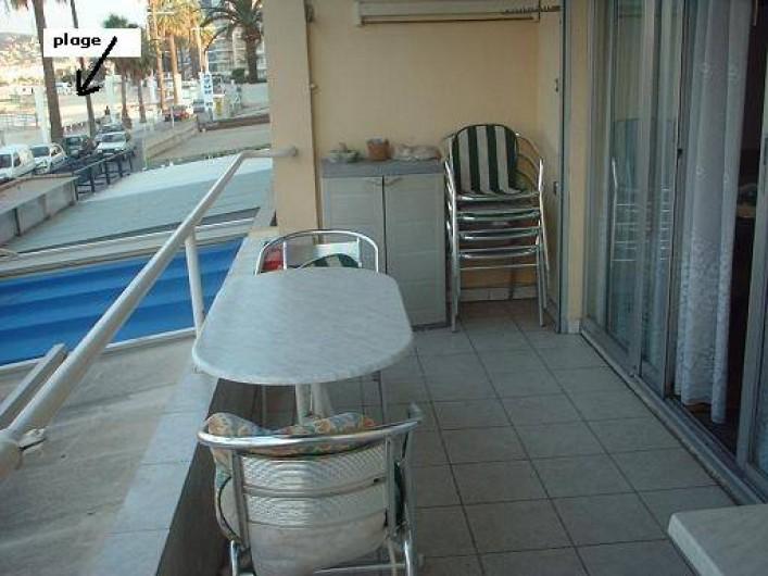 Location de vacances - Appartement à Juan les Pins - Balcon