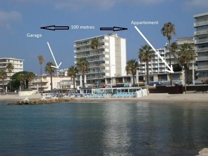 Location de vacances - Appartement à Juan les Pins - Garage 3 min à pieds
