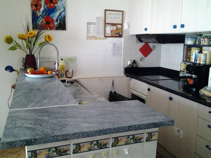 Location de vacances - Appartement à Juan les Pins - Cuisine Américaine
