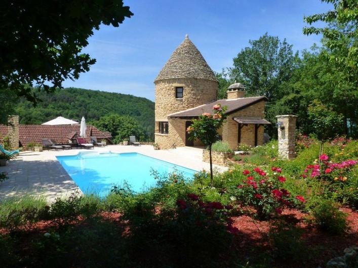 Location de vacances - Villa à Auriac-du-Périgord - PISCINE DU COUSTAL