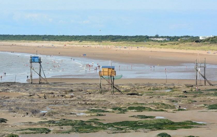 Location de vacances - Villa à Saint-Michel-Chef-Chef - plage de la Roussellerie direction St Brevin