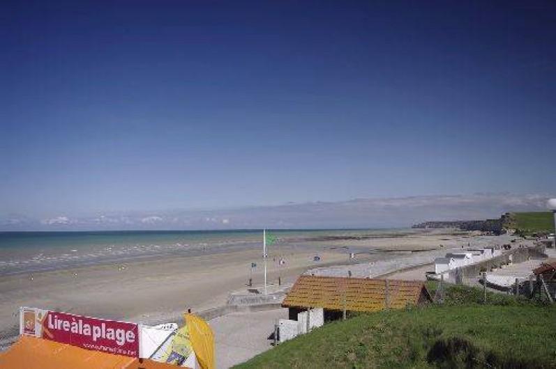 Location de vacances - Bungalow - Mobilhome à Le Bourg-Dun - plage de st Aubin a 3 km du camping