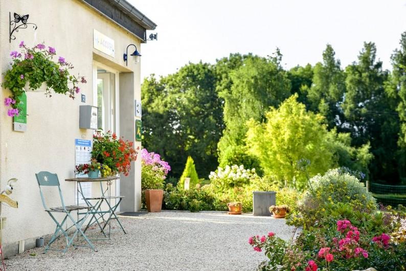 Location de vacances - Bungalow - Mobilhome à Le Bourg-Dun - Accueil