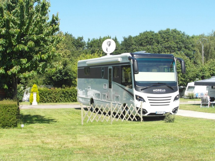 Location de vacances - Bungalow - Mobilhome à Le Bourg-Dun - Emplacement pour grand camping car