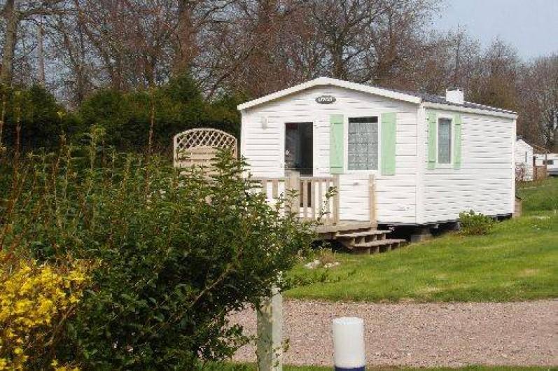 Location de vacances - Bungalow - Mobilhome à Le Bourg-Dun - mobil home  1 a2 personnes