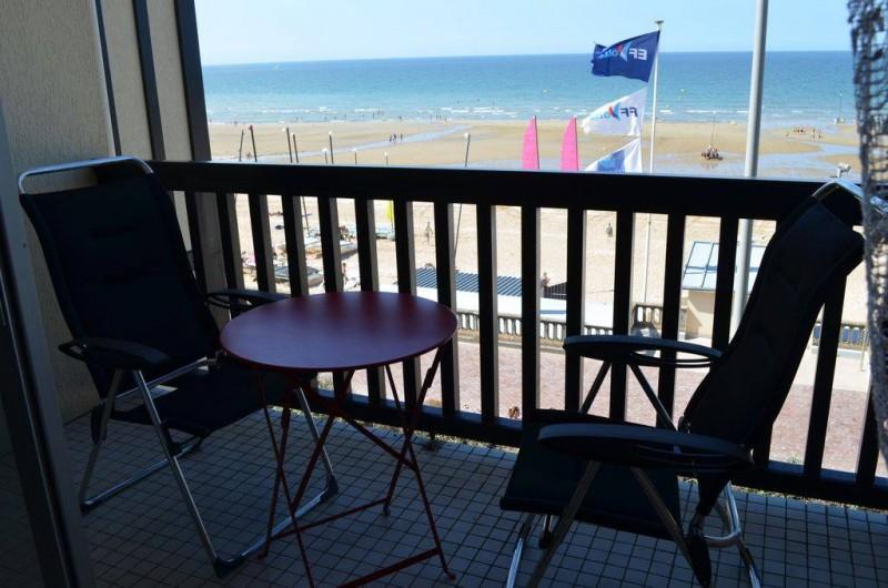 Location de vacances - Appartement à Cabourg - vue du balcon