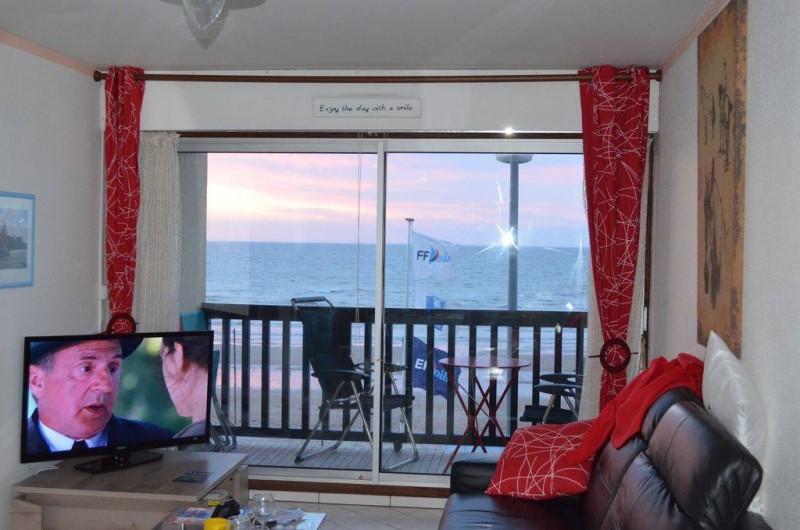 Location de vacances - Appartement à Cabourg - vue du salon