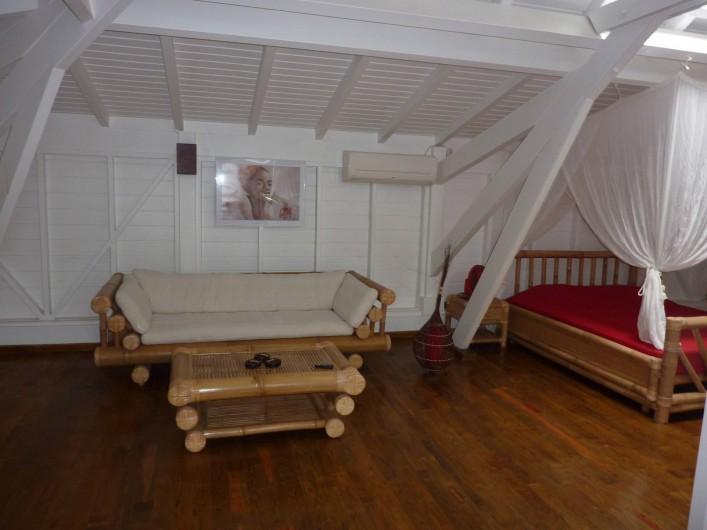 Location de vacances - Villa à Saint-François - salon mezzanine