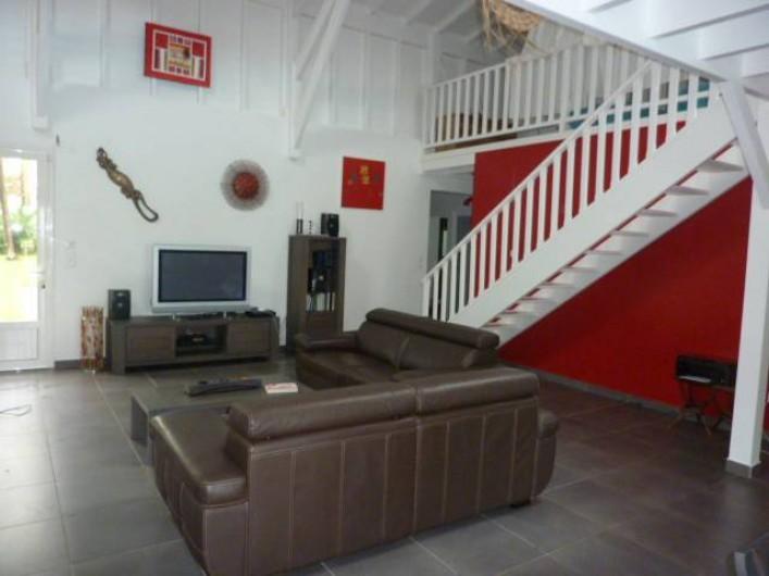 Location de vacances - Villa à Saint-François - salon intérieur