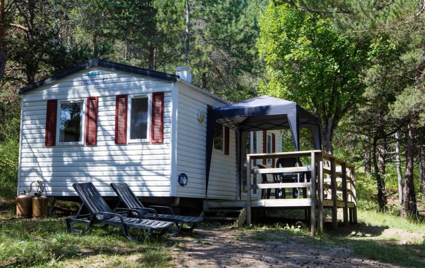 Location de vacances - Camping à Recoubeau-Jansac