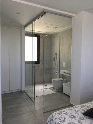 Location de vacances - Villa à San Miguel de Salinas - salle de bain privée chambre 3