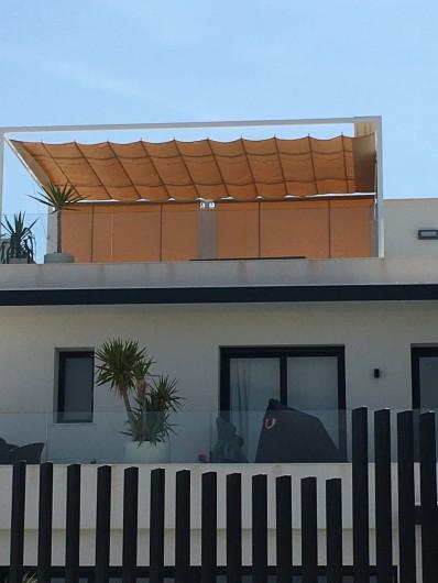 Location de vacances - Villa à San Miguel de Salinas - pergola du patio