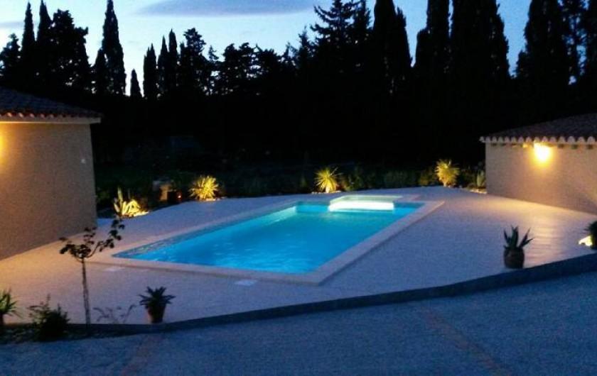 Location de vacances - Gîte à Saint-Cyprien - piscine