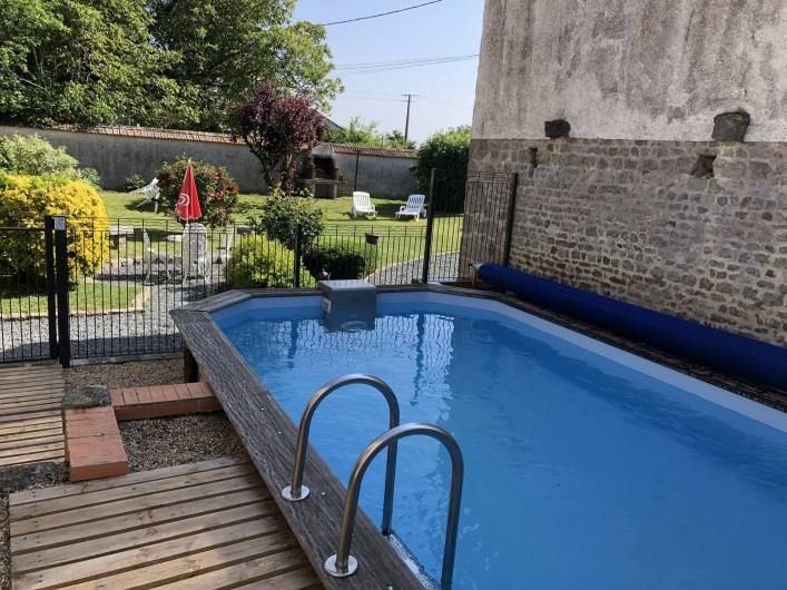 Location de vacances - Gîte à Engenville - La Piscine