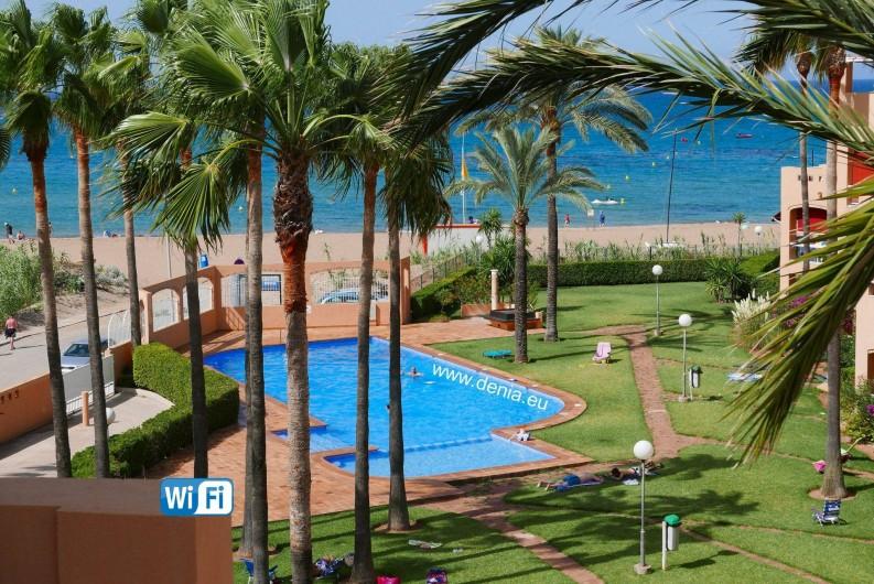 Location de vacances - Appartement à Dénia - VUE MER
