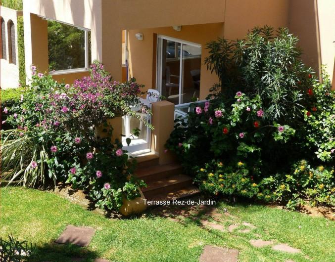 Location de vacances - Appartement à Dénia - Terrasse Rez-de-Jardin