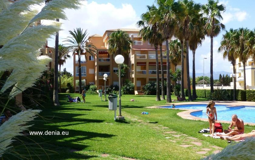 Location de vacances - Appartement à Dénia - La Résidence en front de mer