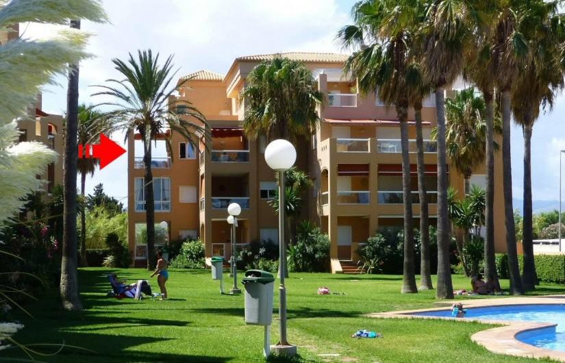 Location de vacances - Appartement à Dénia - La Résidence >> Etage